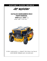 Spider_2SGS_sn 2805-_Parts manual 2SGS