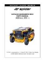 Spider_2SGS_sn_3858-_parts manual